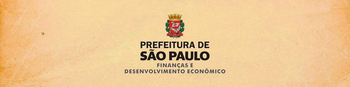 Logo Prefeitura de São Paulo - Finanças