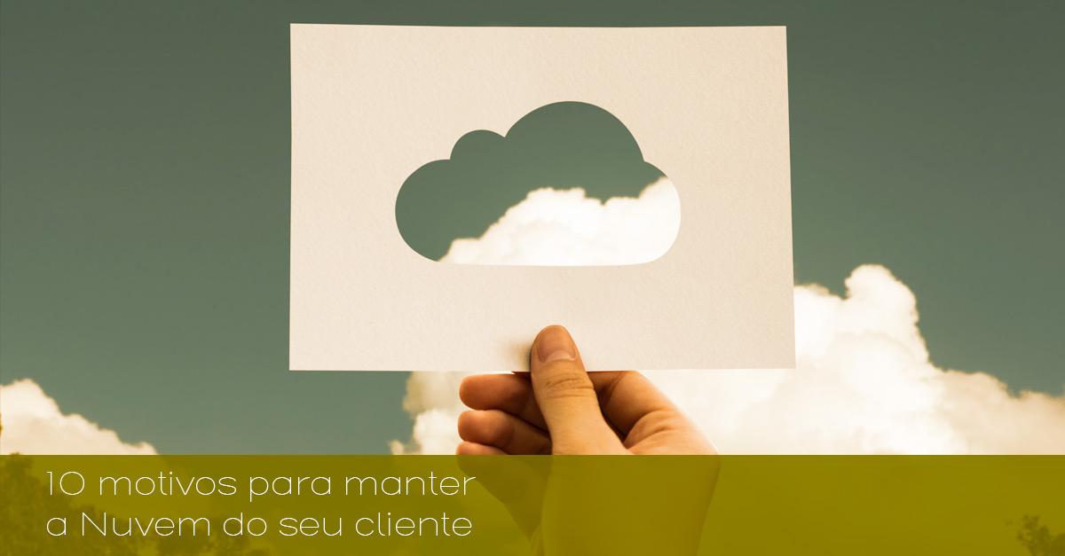 nuvem do seu cliente