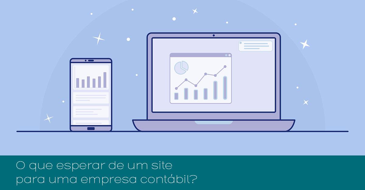 O que esperar de um site para uma empresa contábil?