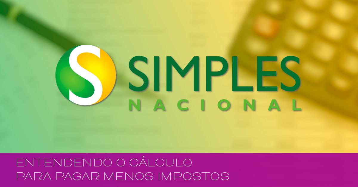 Entenda o cálculo do simples nacional